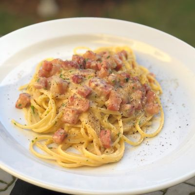 Recept na těstoviny Carbonara