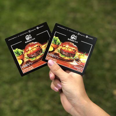 Vítejte v novém kabátu Burger Baru